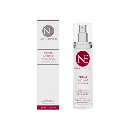 La crema Antiage de Nezeni Cosmetics es una potente crema que reduce las arrugas hasta un 47%. Una combinación de péptidos, vitaminas y extractos que trabajan para aumentar la síntesis de elastina y aumentan la firmeza, elasticidad e hidratación de l...