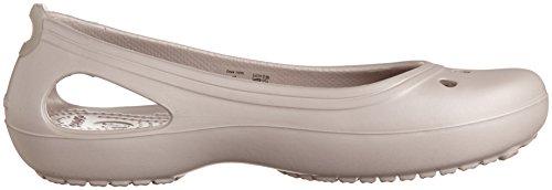 crocs Kadee 11215-22Z-460 Damen Ballerinas Platinum/Platinum