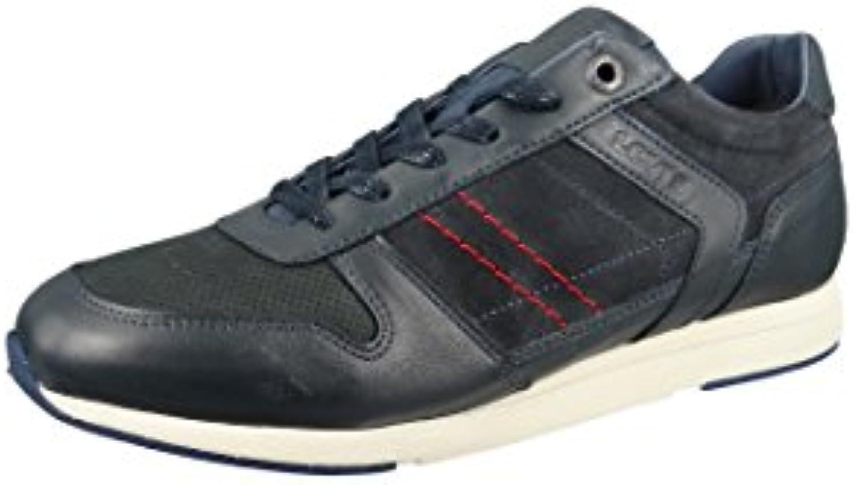 Levis 226774 808 17 Schuhe Sneaker Bristol Blau Navy Leder