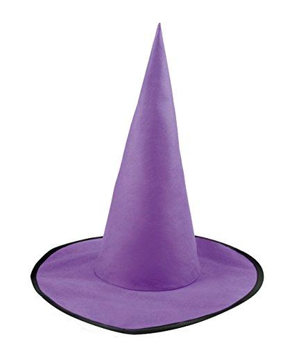 Halloweenia - Halloween Kinder Kostüm Hexen- Zauberer Hut , (Kostüme Kind Cupcake)