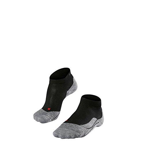 Falke Running Damen RU4 Short Quarter Laufsocken 16706 2 Paar, Farbe:Schwarz;Strumpf-/Sockengröße:37-38;Artikel:-3010 black -