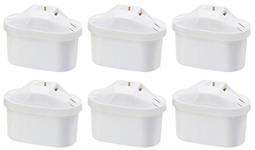 AmazonBasics Wasserfilterkartuschen – 6er Pack