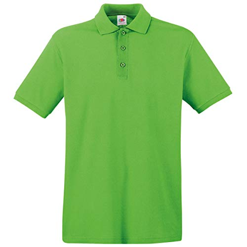 Fruit of the Loom - Premium Poloshirt / Lime, L