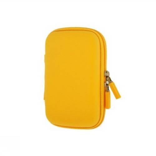 Moleskine Travelling Collection / Hülle / extraklein / für Schlüssel, Geldschein, Kreditkarte / Sonnengelb