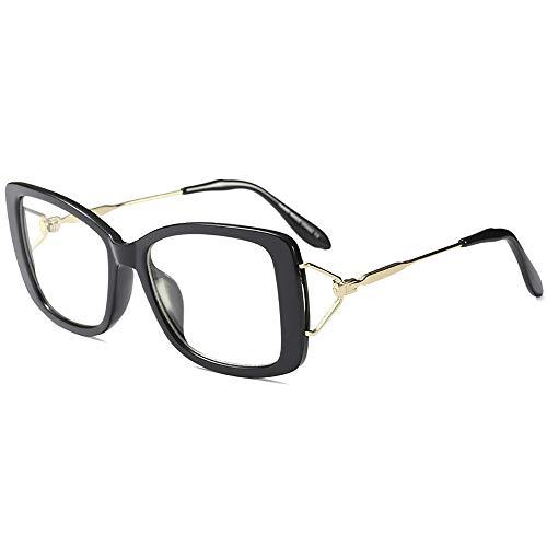 Ins occhiali classico metallo quadrato ottico occhiali trasparente lente occhiali da donna vintage farfalla