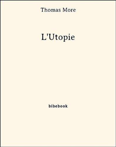 Couverture du livre L'Utopie