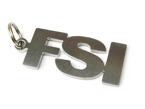 FSI Emblem Key Fob Stainless Steel for sale  Delivered anywhere in UK