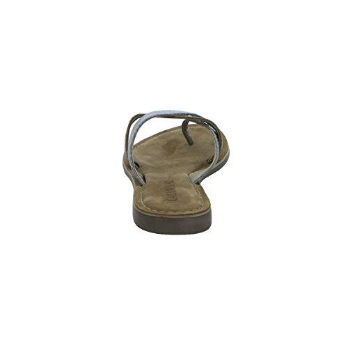 Lazamani 75,431 Damen Pantolette bis 30mm Absatz Grau (Grau)