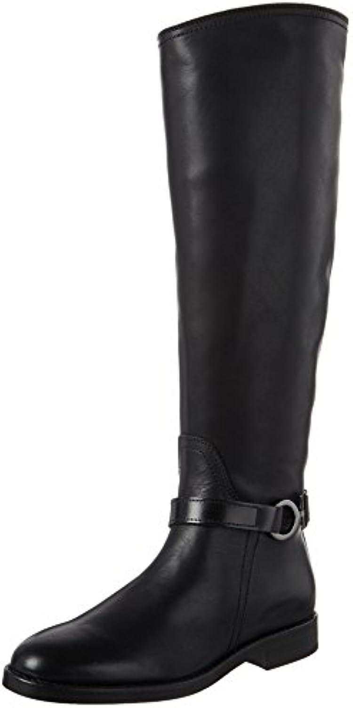 Marc O'Polo Flat Heel Long Boot 70814228002124, Botas Camperas para Mujer