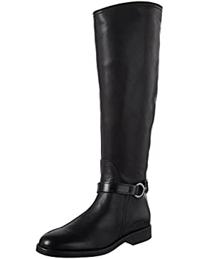 Marc O'Polo Damen Flat Heel Long Boot 70814228002124 Reitstiefel