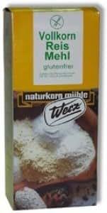 Werz Reis Vollkorn Mehl 1kg