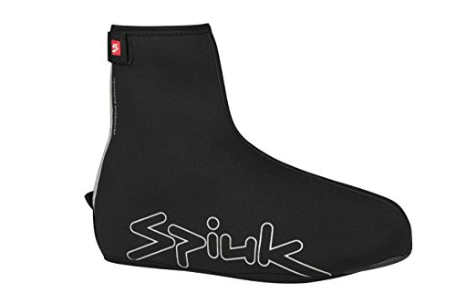 Spiuk Top Ten Neopreno - Cubre zapatillas unisex, color negro, talla L / XL
