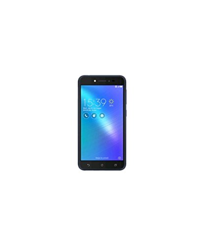 "Asus ZenFone Live Smartphone da 5"" HD, Vetro smussato 2.5D, 2 GB RAM, 32 GB ROM, 4G, Android 6.0, Marchio Tim, Navy Nero [Italia]"
