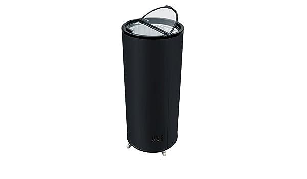 Mini Kühlschrank Für Draußen : Runder party kühlschrank in schwarz l kleiner getränke