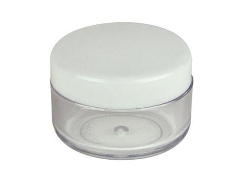 25pcs-10gram-ml-empty-plastic-jars-eyshadow-cosmetic-containers-with-screw-cap-lid-for-travel-make-u