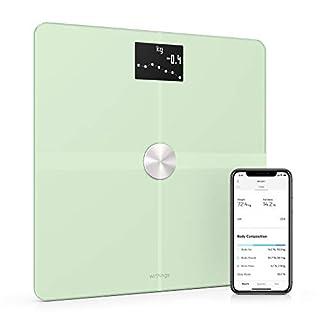 Withings/Nokia Body+ - WLAN-Körperwaage für Körperzusammensetzung, Pastellgrün (B07KTQDK61)   Amazon Products