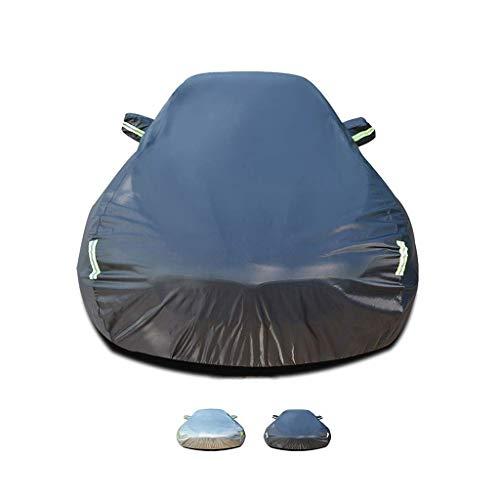 YHEGV Autoabdeckung funktioniert mit Audi A3 Autoabdeckung | Eine Schicht Baumwollfussel innen | Regenfest, Winddicht, staubdicht, UV-beständig, abkühlend (Farbe: B, Größe: 2014 Limousine 40 TFSI