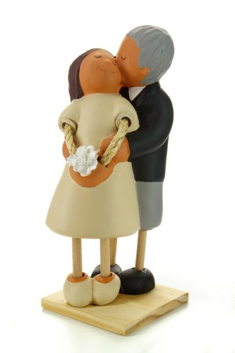 Jullar JC 403107,05 - Dolls for wedding cake or anniversary of Bubinot (kiss on the cheek)