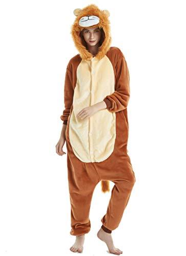 Lion Pyjama Kostüm - Chenrry Pyjamas Tieroutfit Schlafanzug Snorlax Tier