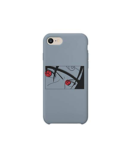 Naruto Itachi Japan Anime Character Phone Case Cover Compatible with Samsung Galaxy S8 Present Christmas for Him Her Schutzhülle Hartplastik Handy Hülle - Phone Cover Japan