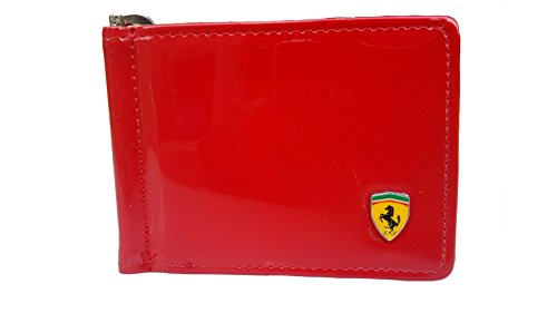 Just Click Fashion Red Synthetic Leather Money Clip Holder Wallet For Men's  available at amazon for Rs.499