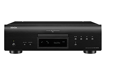 Denon DCD-1600NE HiFi CD player Negro - Unidad CD