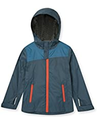 Zakti Kids Agile Waterproof Jacket Aqua 5-6 Años