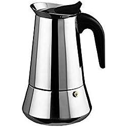 Cuperinox - Cafetera Espresso en Acero Inoxidable - Plata - 6 Tazas