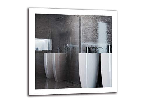 Espejo LED Premium   Dimensiones Espejo 80x80 cm
