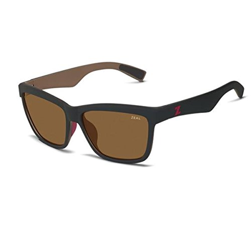 b86aef4a26e3 Zeal Optics Kennedy Polarized Sunglasses - Black Coffee Frame with Copper  Lens by Zeal Optics