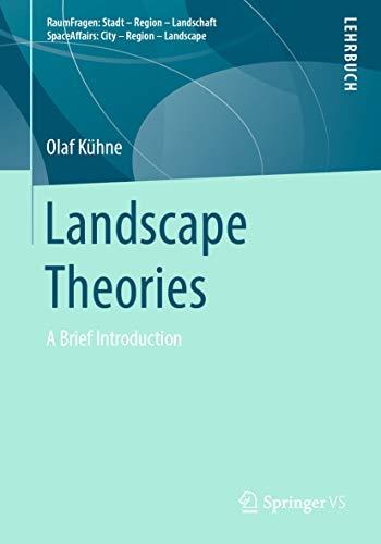 Landscape Theories: A Brief Introduction (RaumFragen: Stadt - Region - Landschaft) (English Edition)