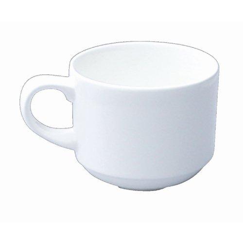 Churchill Alchemy C747Stapeln, Tee Tasse, weiß (24Stück)