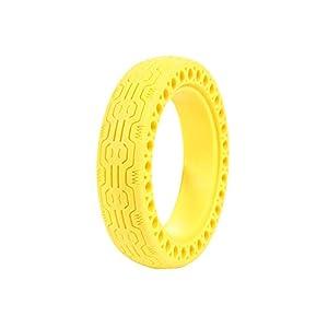 Nexmon M365 Elektroroller 8,5 Zoll Gelb Honeycomb Solid Tubeless