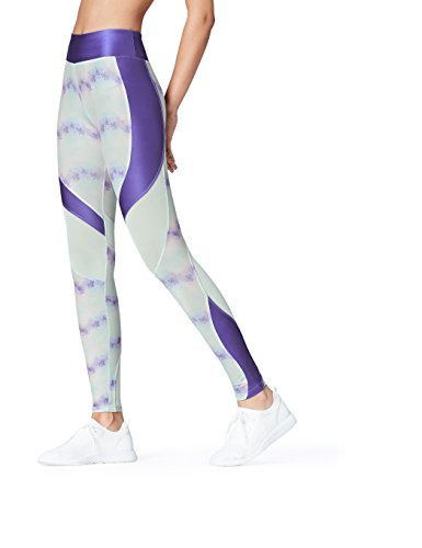 Activewear Sport Leggings für Damen, Blau (Blue), 36 (Herstellergröße: Small)