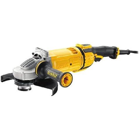 DeWalt DWE4579-QS - Amoladora 230mm 2.600W 6.500 rpm Embrague + Arranque Suave + Bloqueo y re-arranque