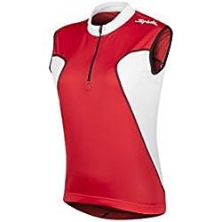 Spiuk Anatomic - Maillot S/M para hombre, color rojo / blanco, talla M