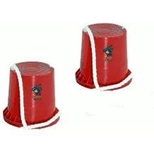 Hudora 76073 joey Topfstelzen, sortiert in rot und blau