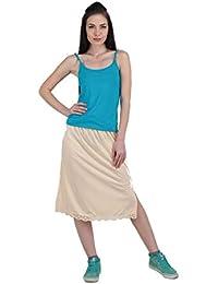 Splash Cotton Rich Regular Skirt Slip for Women