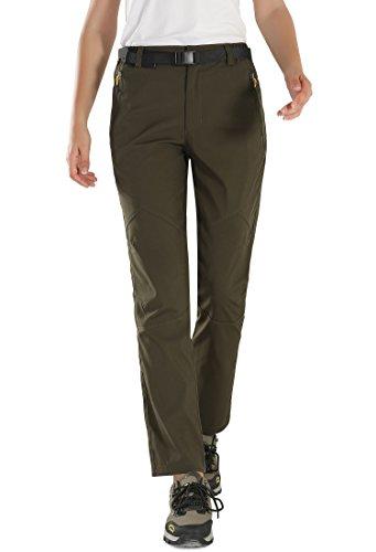 9c8d6d15f7f HAINES Pantalon Softshell Femme de Randonnée Imperméable Respirant Pantalon  été Outdoor Trekking Pantalon