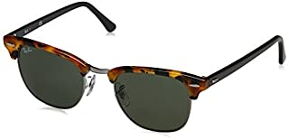 Rayban Clubmaster Montures de Lunettes, Noir (Spotted Black Havana/Green), 49 mm Mixte Adulte (B00URIU1H2) | Amazon price tracker / tracking, Amazon price history charts, Amazon price watches, Amazon price drop alerts