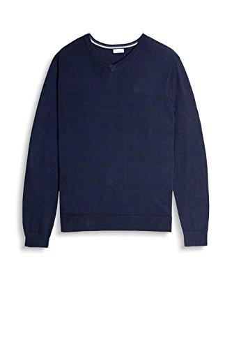 ESPRIT Herren Pullover Blau (Navy 400)