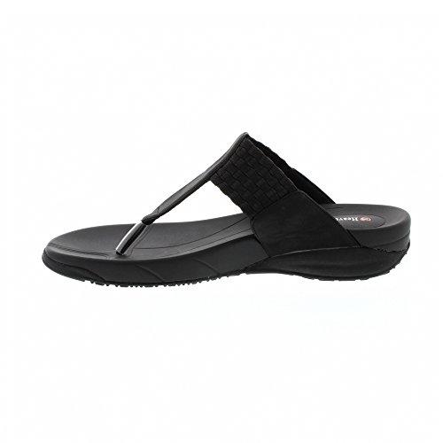 Heavenly Feet Greta Sandalen Schwarz Black