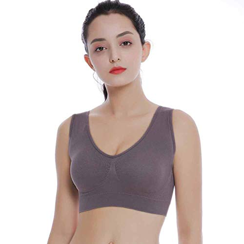 CHIYEEE Damen Komfort Stretch Sport BH Top Fuer Yoga Fitness-Training