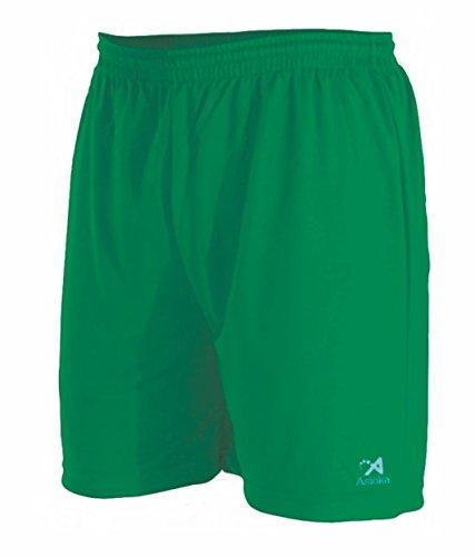 Asioka 90/08N Pantalón Corto Técnico Deportivo, Unisex niños, Verde, 3XS (8-10)