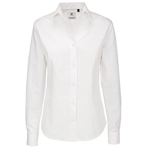 B&C Collection - Chemisier - Femme Blanc - Blanc