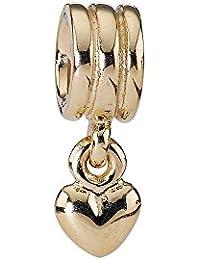 Pandora Damen-Bead  14 Karat (585) Gelbgold Goldelement KASI 750198