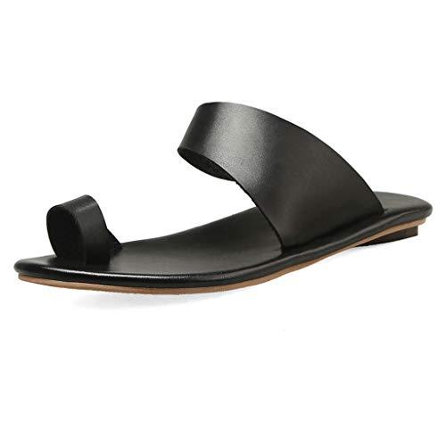 Precioul Damen Sommer neue Persönlichkeit Zehenschnalle mit Sandalen Hausschuhe einzigen Schuhen, einzigartigen Stil, um Ihnen einzigartig zu geben