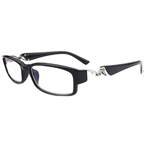 Huicai Unisex Retro Anti-Müdigkeit Lesebrille Mode Strass Lesebrille Rahmen Brille Stärke: 1.0 bis 6.0