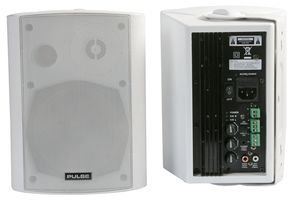 ACTIVE SPEAKERS, 40W RMS, WHITE ACTIVE40PRO-WH By PULSE by Best Price Square
