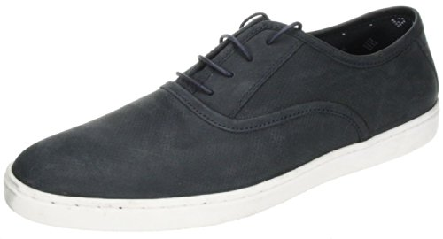 Rouge pour hommes RUBAN Cowie marron marine lacet cuir décontracté Baskets POMPE chaussures Bleu Marine